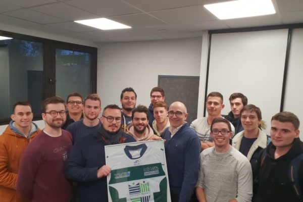 Les Lions Nantais : L'équipe de rugby de l'IdHEO Nantes et l'ISME