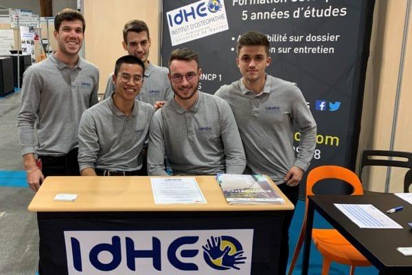 IdHEO au salon de l'Etudiant à Rennes du 09 au 11 Janvier 2020 inclus