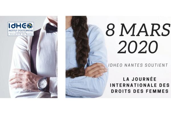 IdHEO Nantes soutient la Journée Internationale des Droits des Femmes