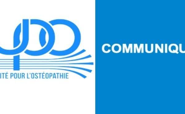 Formation à l'ostéopathie et état d'urgence : les préconisations de l'UPO