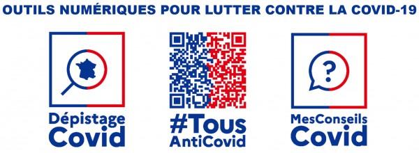 Lutte anti-COVID-19 : Tester, Alerter, Protéger