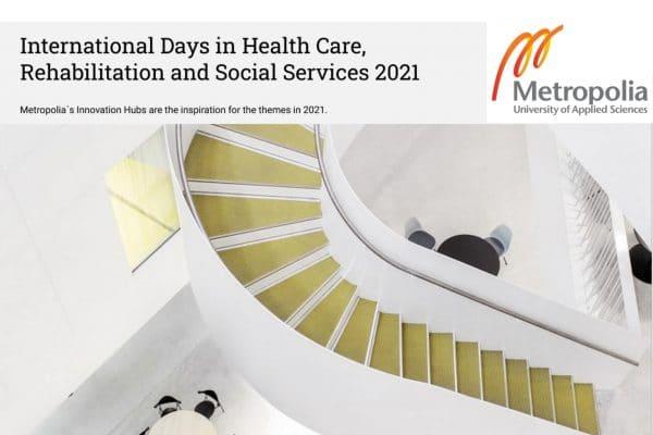 Participation aux Journées internationales des soins de santé, de la réadaptation et des services sociaux